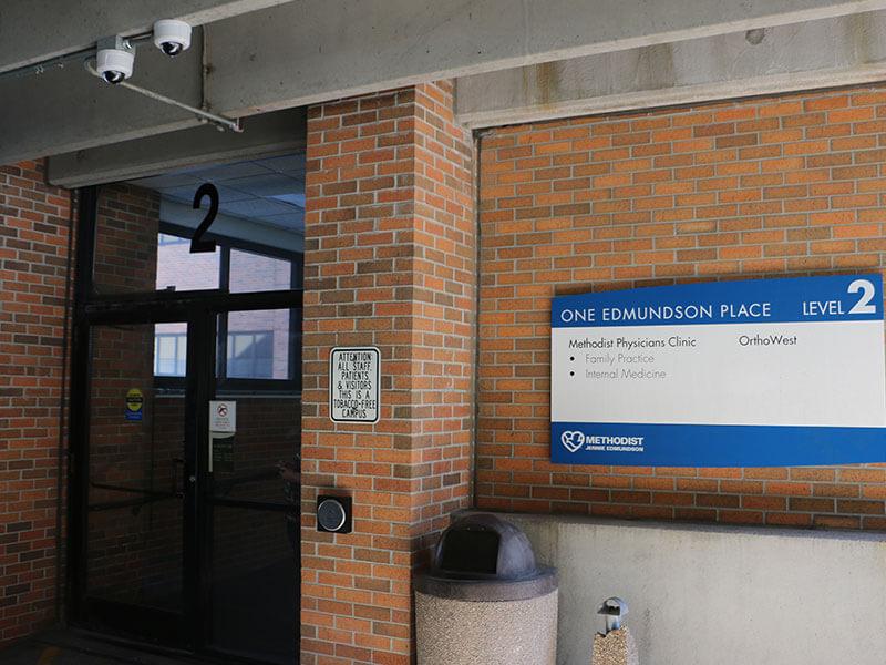 Council Bluffs entrance