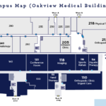 Overhead Map for Emergency Room (ER)