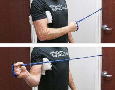 External Rotation Exercise Demonstration