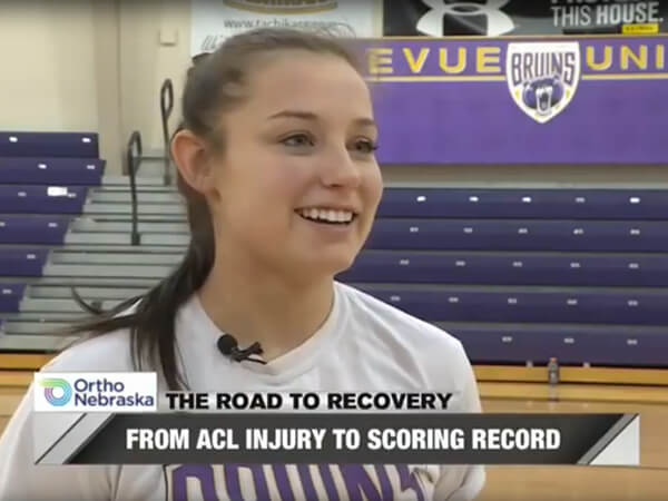 Jamie Winkler Road to Recovery ACL Injury WOWT Video