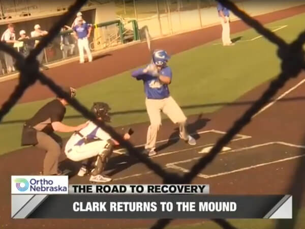 Logan Clark Road to Recovery WOWT Video