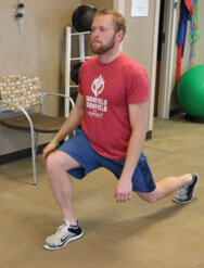 Lunge to Step Up