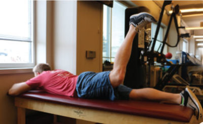 Prone Hip Extension