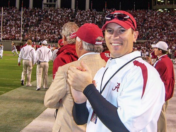 Dr. Scott Reynolds at Alabama