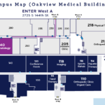 Rheumatology Overhead Map