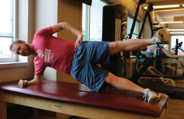 Side Plank Extension
