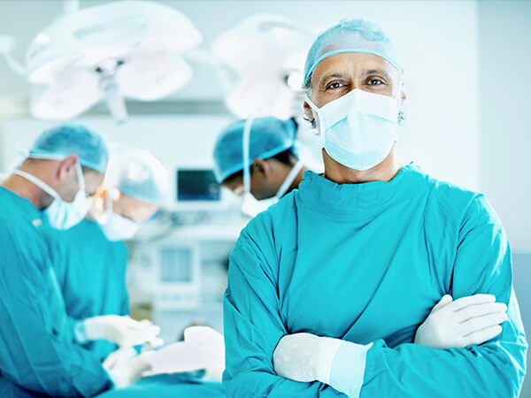 Shoulder Surgeon in Operating Room