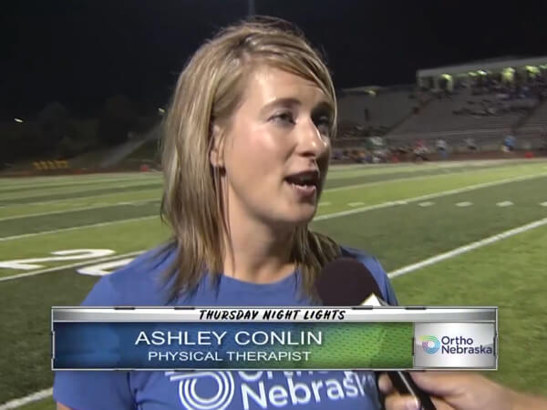 Ashley Conlin on Ankle Sprains Interview