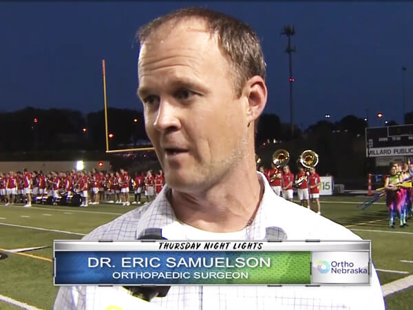 Dr. Eric Samuelson Interview on Knee Injuries