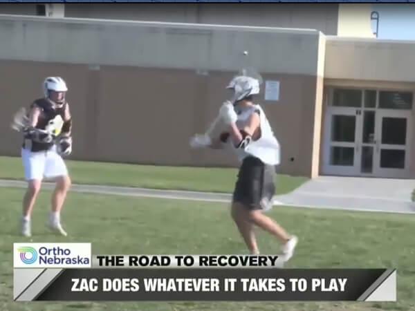 Zac Van Buren WOWT Road to Recovery