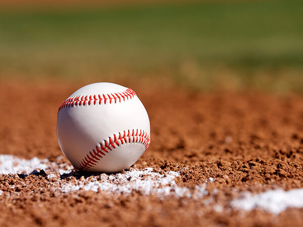 Sports doctors: baseball in dirt
