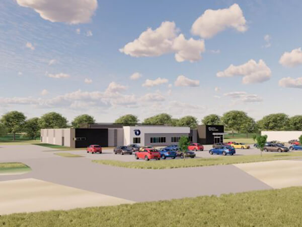 New Council Bluffs Clinic Rendering
